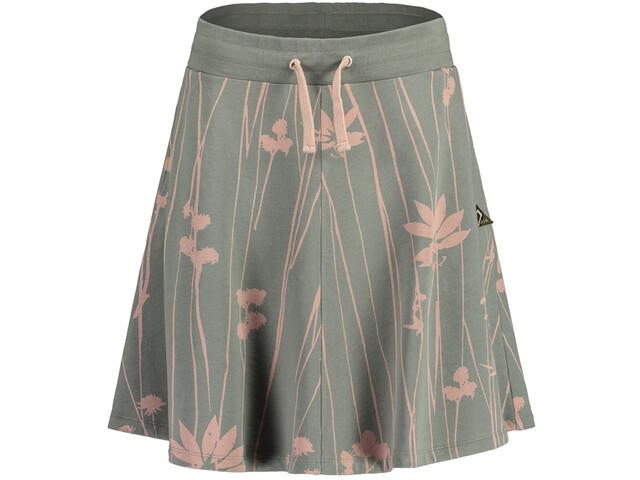 Maloja RuselaM. Sweat Skirt Women, groen/roze